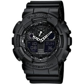 CASIO G-SHOCK GA-100-1A1ER Zegarek Mężczyźni, black